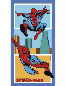 Πετσέτα Θαλάσσης Beach Collection 75x150 SPIDERMAN AMERICA